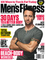 Alex O'Loughlin on Men's Fitness Cover August 2011