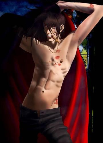 Alucard Shirtless!!!1