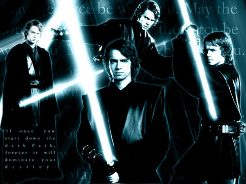 bintang Wars: Revenge of the Sith wallpaper with a air mancur titled Anakin Skywalker