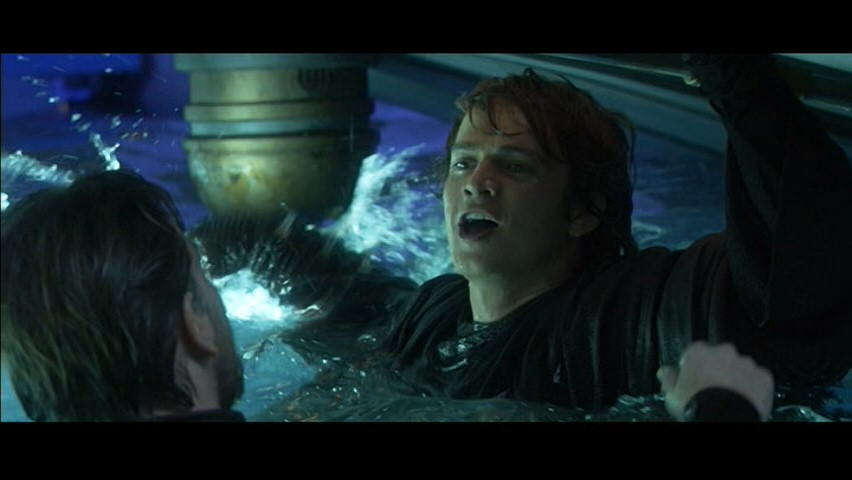 Anakin and Obi wan deleted scene