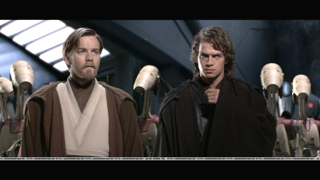 Anakin And Obi Wan Star Wars Revenge Of The Sith Photo 23604581 Fanpop