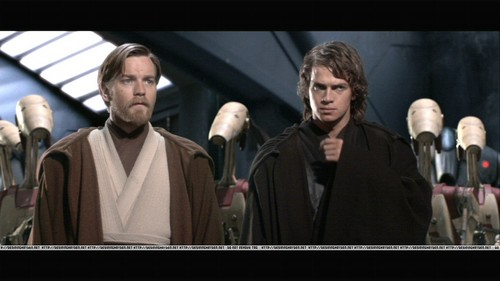 bintang Wars: Revenge of the Sith wallpaper titled Anakin and Obi wan