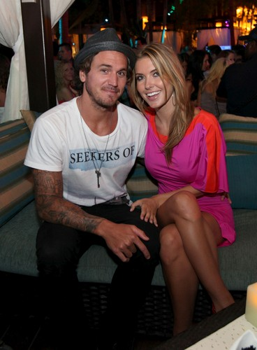 Audrina Patridge At The Pool After Dark in Atlantic City