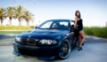 BMW &amp; HOT GIRL - bmw photo