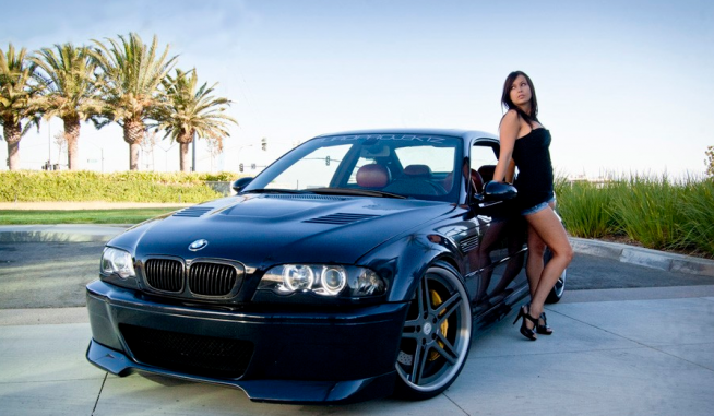 Bmw Images Bmw Amp Hot Girl Wallpaper And Background Photos