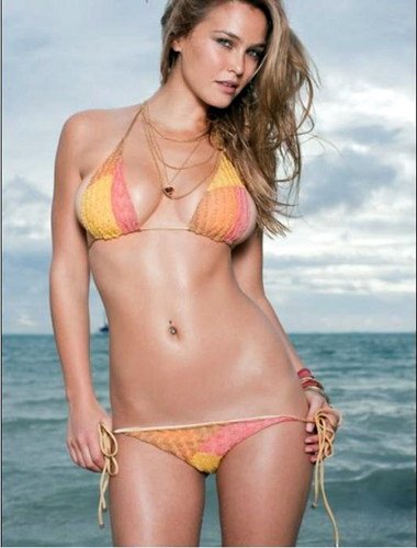 swimsuit si wallpaper with a bikini titled Bar Refaeli