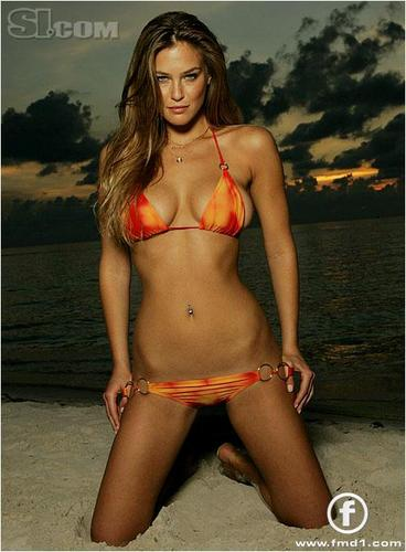 swimsuit si wallpaper containing a bikini titled Bar Refaeli