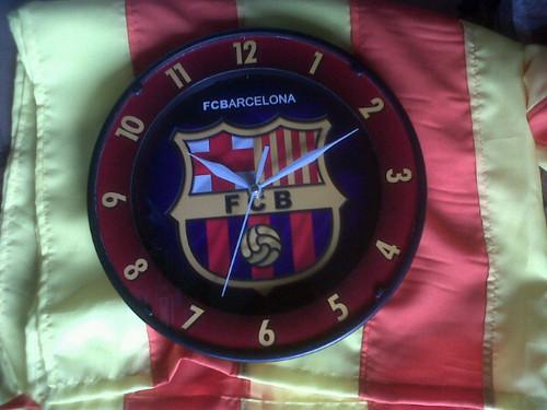 Barca clock