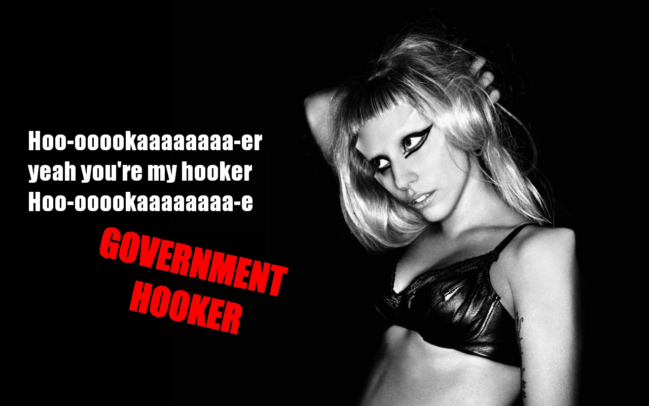 Born This Way Wallpaper (GOVERNEMENT HOOKER)