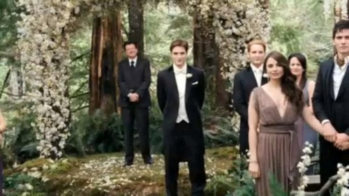 Maria&Jєnn♥ wallpaper containing a business suit entitled Breaking Dawn Part 1