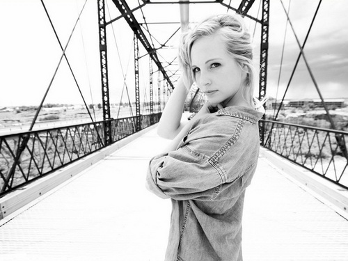 Candice Accola پیپر وال probably containing a chainlink fence called Candice Accola ❤