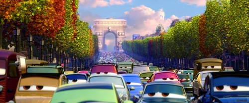 Disney Pixar Cars 2 wallpaper with a street called Cars 2 pics :)