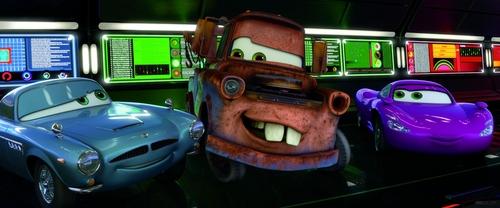 Disney Pixar Cars 2 Hintergrund containing a totem pole titled Cars 2 pics :)