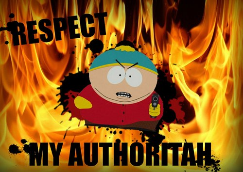 South Park Hintergrund titled Cartman - Respect My Authoritah