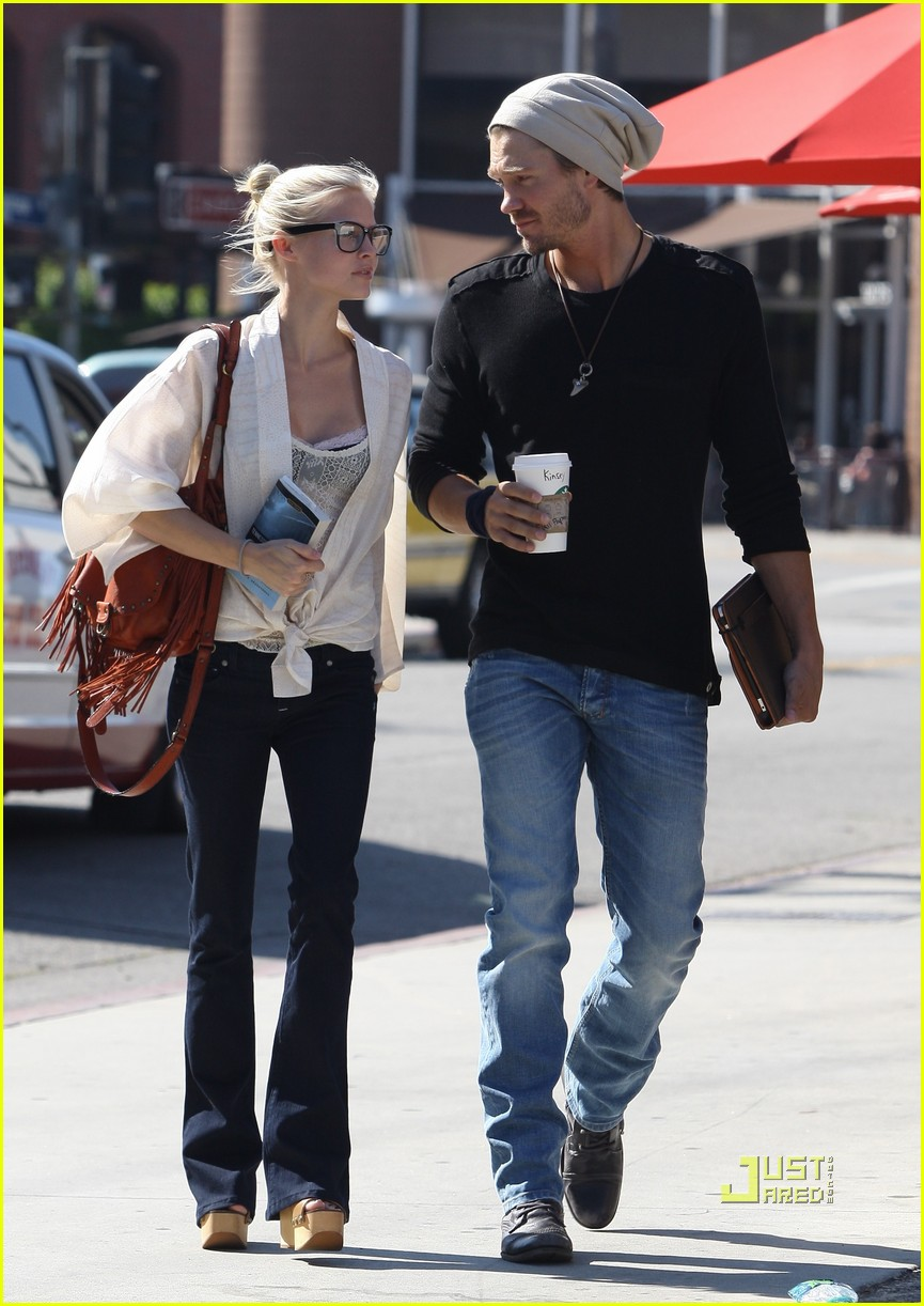 Chad Murray & Kenzie Dalton: Starbucks Stop - chad-michael-murray photo