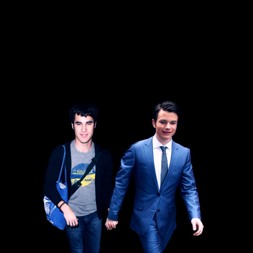 Chris & Darren - darren-criss-and-chris-colfer Fan Art