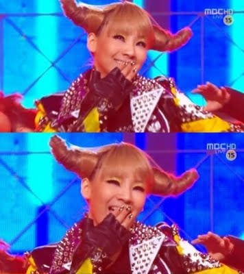 Cl horn hairstyle
