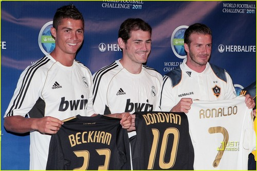 Cristiano Ronaldo & David Beckham: World Football Challenge!