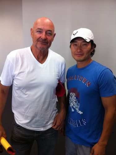 Lost wallpaper probably with a workwear and a pick entitled Daniel Dae Kim and Terry O'Quinn's -Hawaii Five-0
