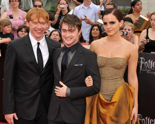 Daniel at the NYC premiere of 'Harry Potter and the Deathly Hallows: Part 2' (July 11).