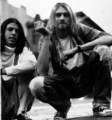 Dave and kurt - foo-fighters photo