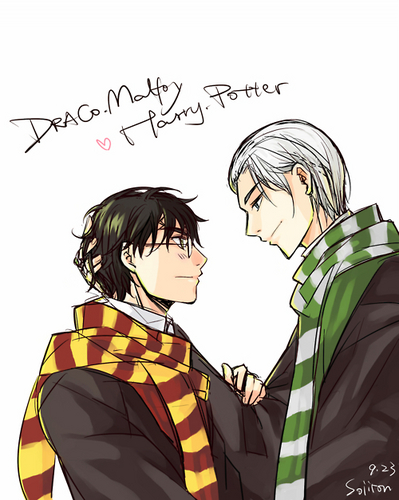 Drarry - ファン Art (Slash)