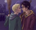 Drarry - shabiki Art (Slash)