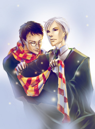 Drarry - 粉丝 Art (Slash)