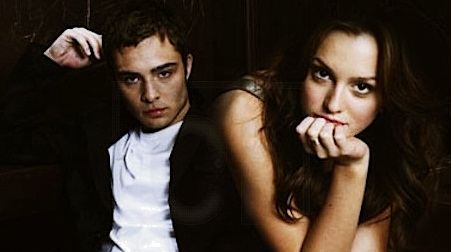 Ed Westwick&Leighton Meester