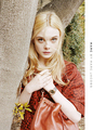 Elle Fanning for Marc Jacobs سے طرف کی Juergen Teller.