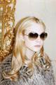 Elle Fanning for Marc Jacobs by Juergen Teller.
