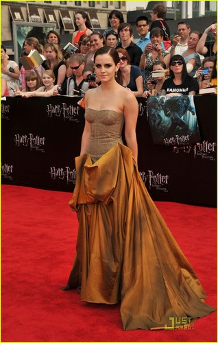 Emma Watson & Daniel Radcliffe: 'Deathly Hallows' NYC Premiere!