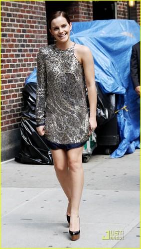 Emma Watson: Letterman Lady
