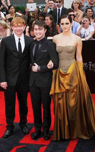 Emma at the NYC premiere of 'Harry Potter and the Deathly Hallows: Part 2' (July 11).