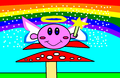 Fairy Kirby - nintendo fan art