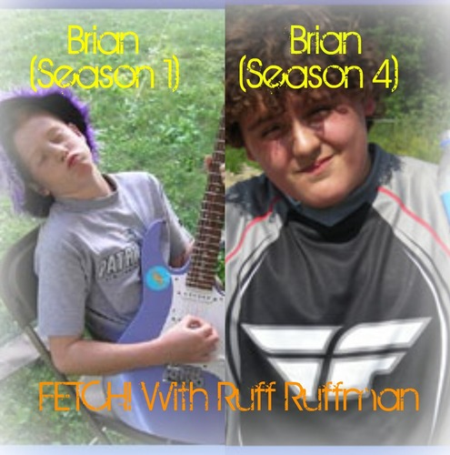 Fetch! Brian (Season 1) and Brian (Season 4)