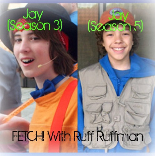 Fetch! jay (Season 3) and jay (Season 5)