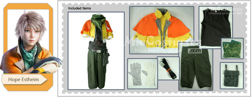 Final Fantasy Hope Estheim Cosplay Costume - final-fantasy Photo