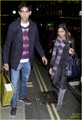 Freida pinto & Dev Patel: lila in London- October 22, 2009