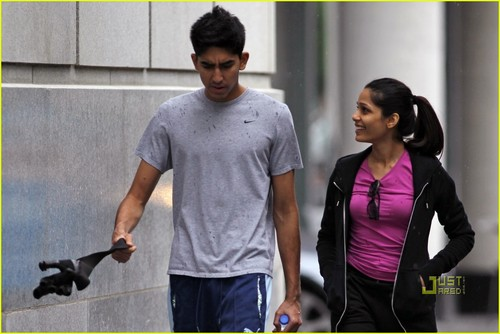Freida pinto & Dev Patel: Montreal Mates- June 18, 2010