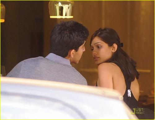 Freida pinto & Dev Patel: Trishna Trance- August 8, 2009