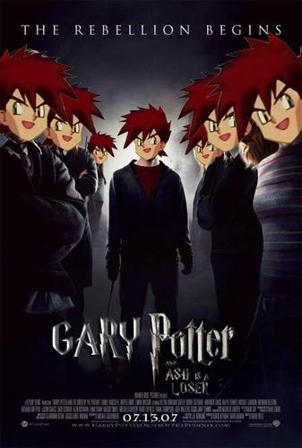 Pokémon achtergrond with anime titled Gary Potter