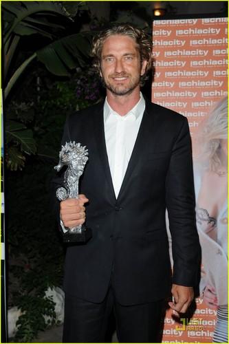 Gerard Butler: Ischia Festival's Actor of the Year!