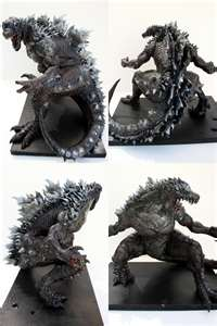 Godzilla: Oh yeah! i'm so strong!