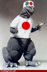Godzilla likes japan!