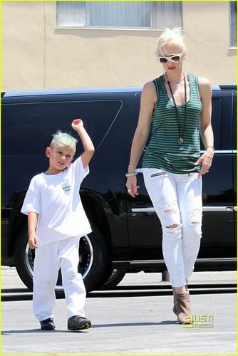 Gwen Stefani: Kingston is a Karate Kid