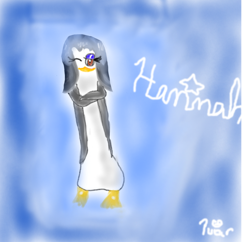 Hannah The chim cánh cụt Official Club hình nền entitled Hannah Pu'ar style!! XD