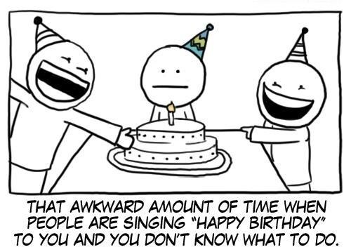 Happy Birthday Moment