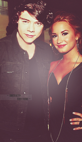 Harry and Demi Lovato