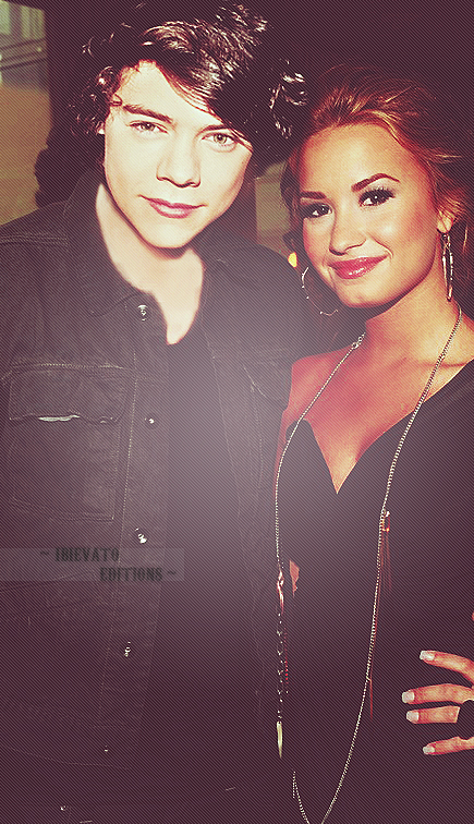 Harry and Demi Lovato - harry-styles photo